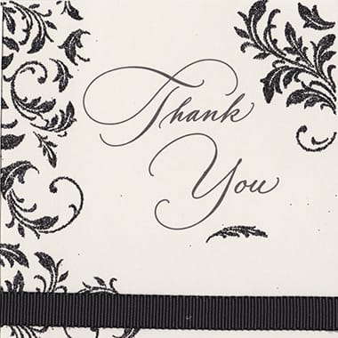 Dr. Zadeh Thank You Cards